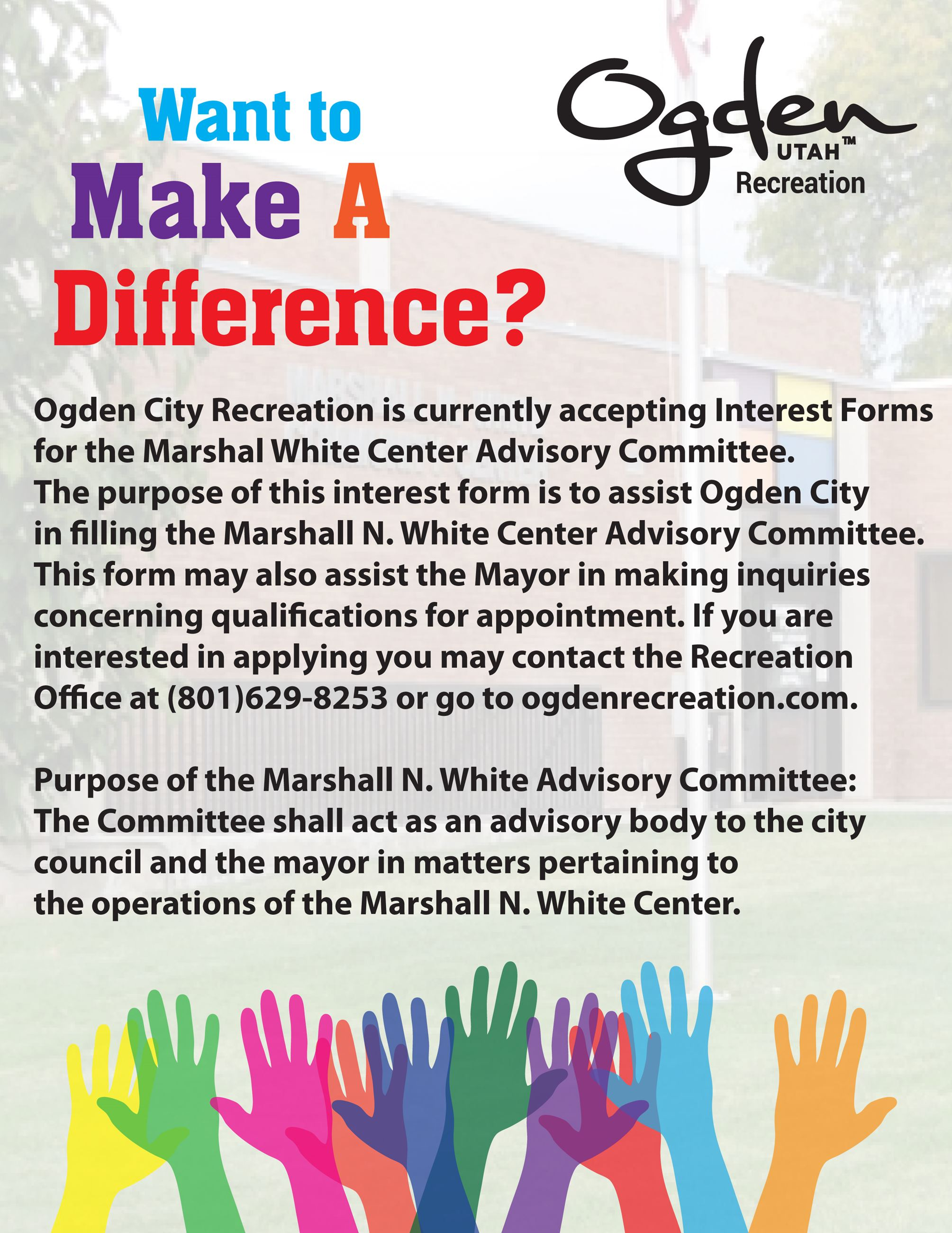 MWC Advisory Committee Flyer