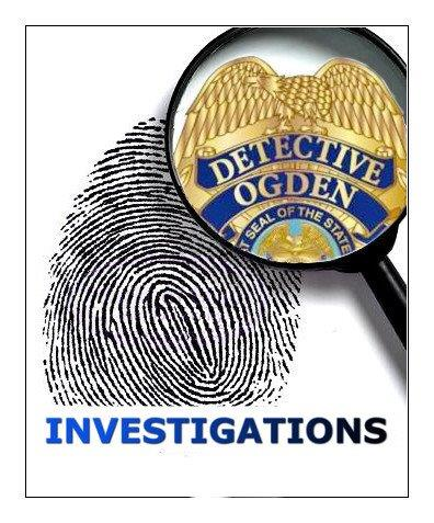 Investigations Print and Badge