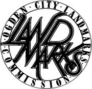 image of logo for the ogden city landmarks commisssion