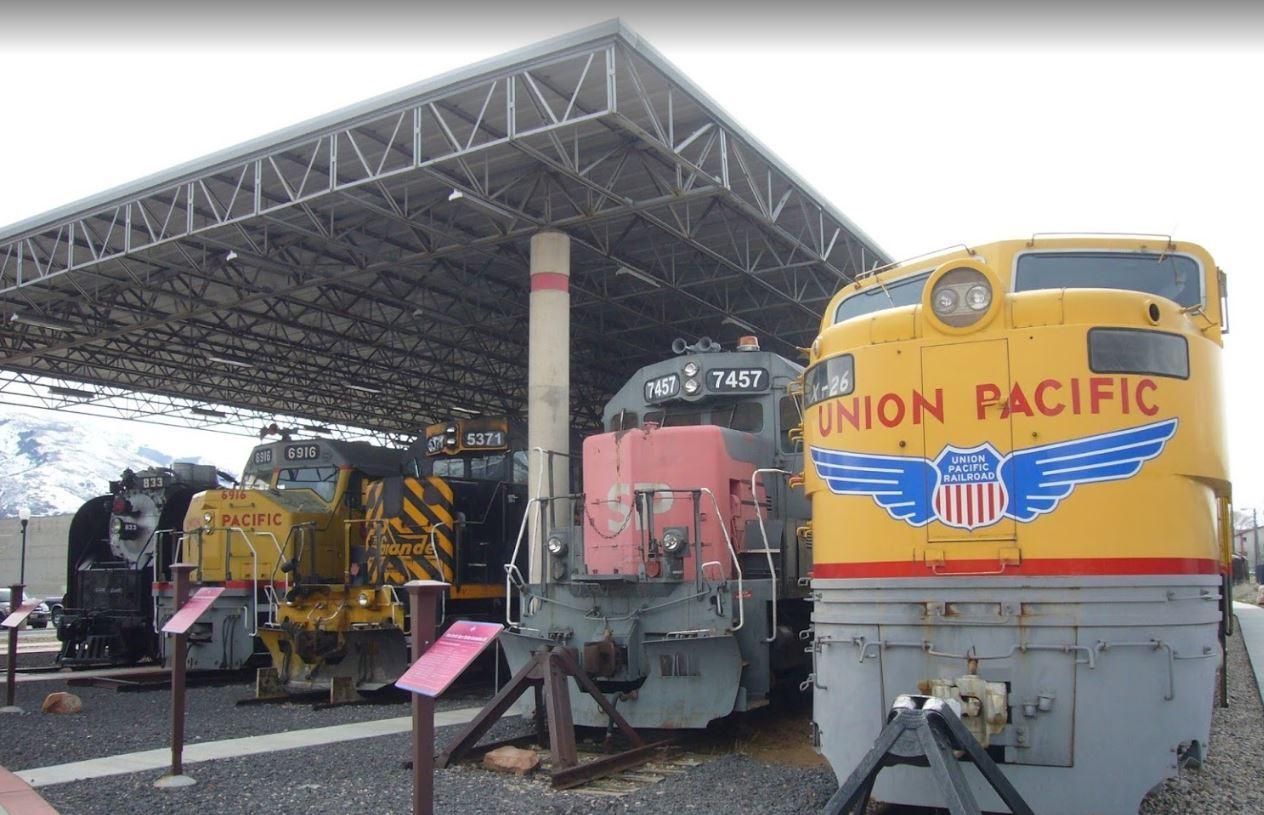 Spencer and Dolores Dore Eccles Rail Center | Ogden, UT