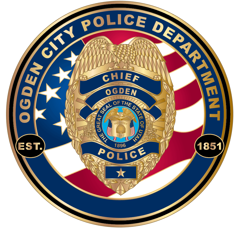 OPD chief coin with badge