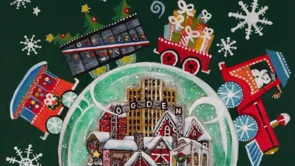 2018 christmas poster opens in new window - Christmas Village Ogden