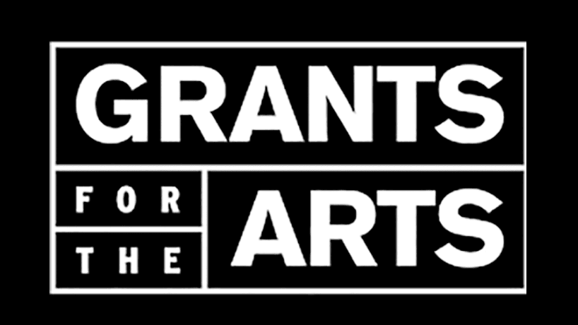 art grants black background