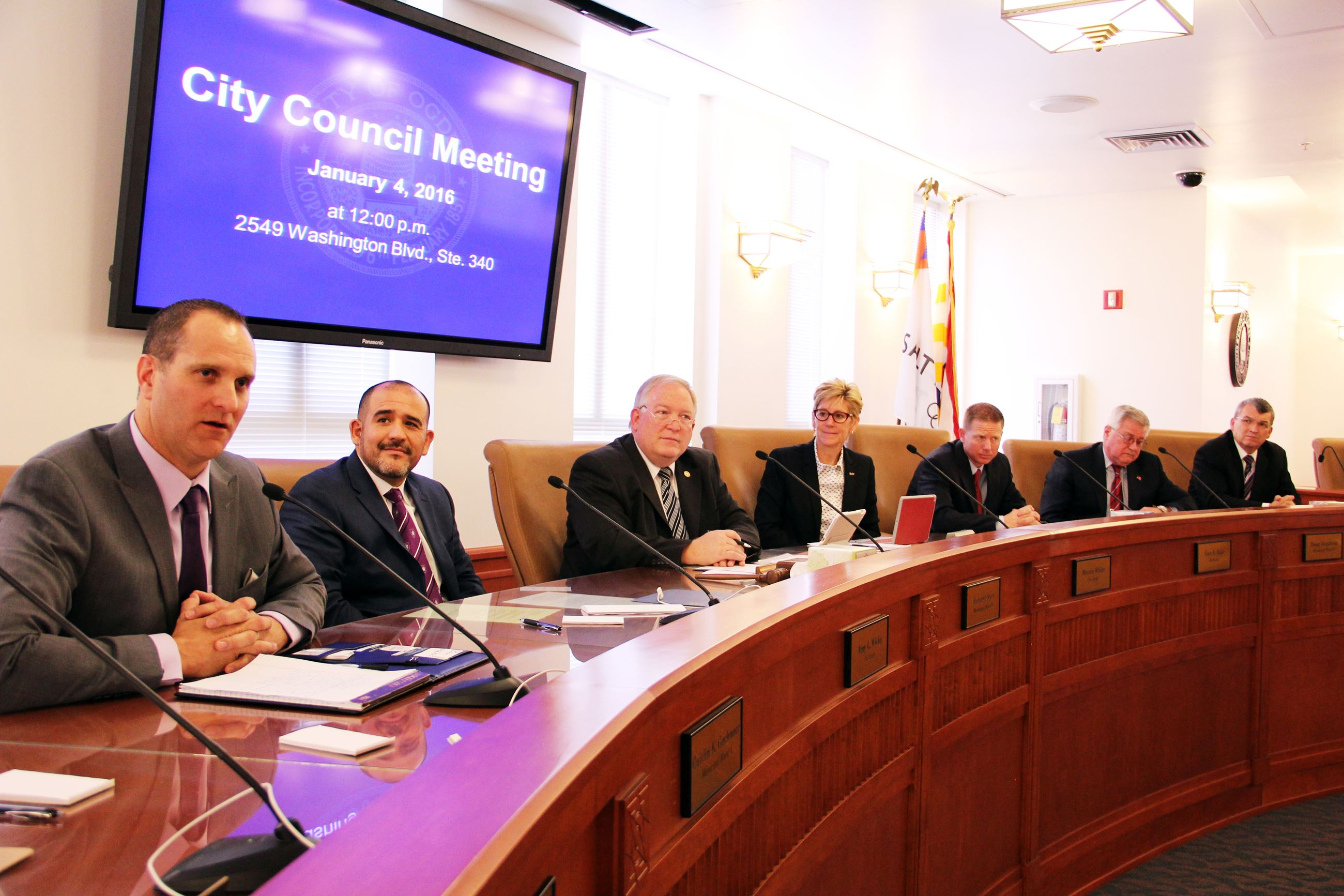 City Council Meeting 2016