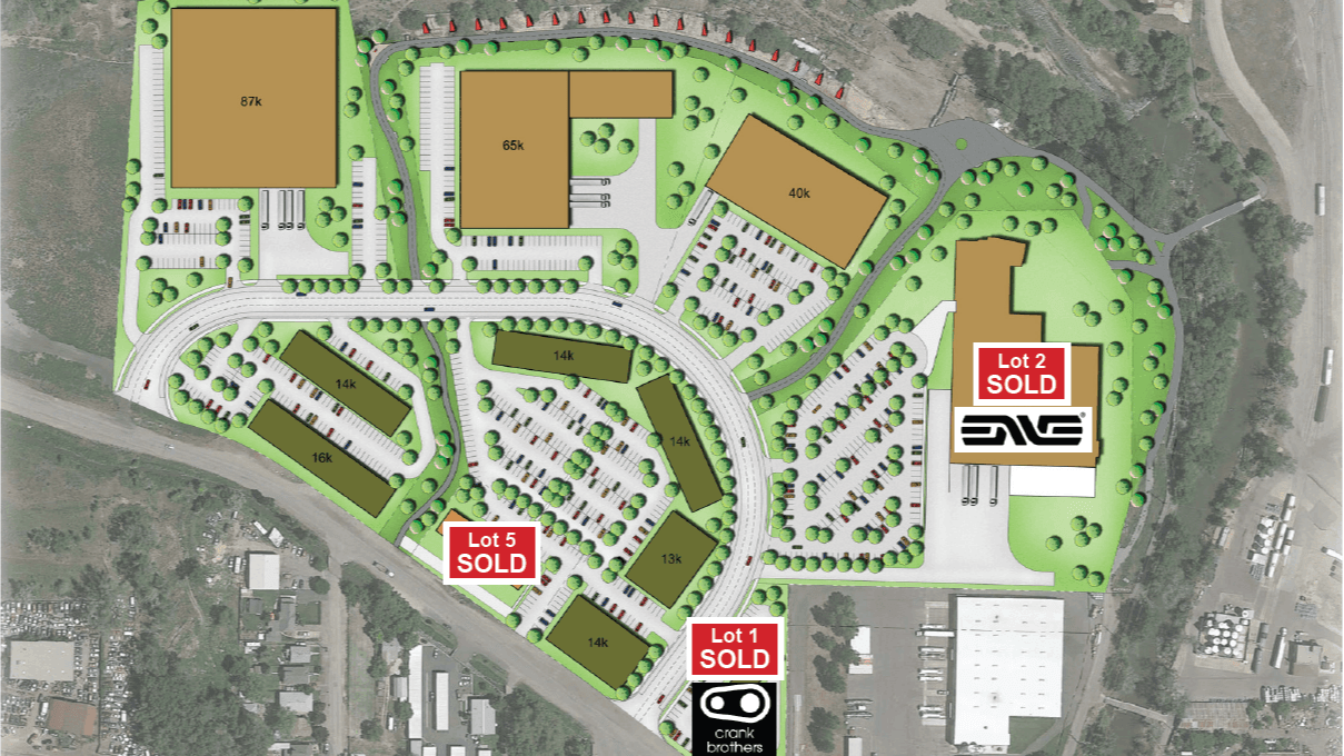 Redeveloped Site Plan