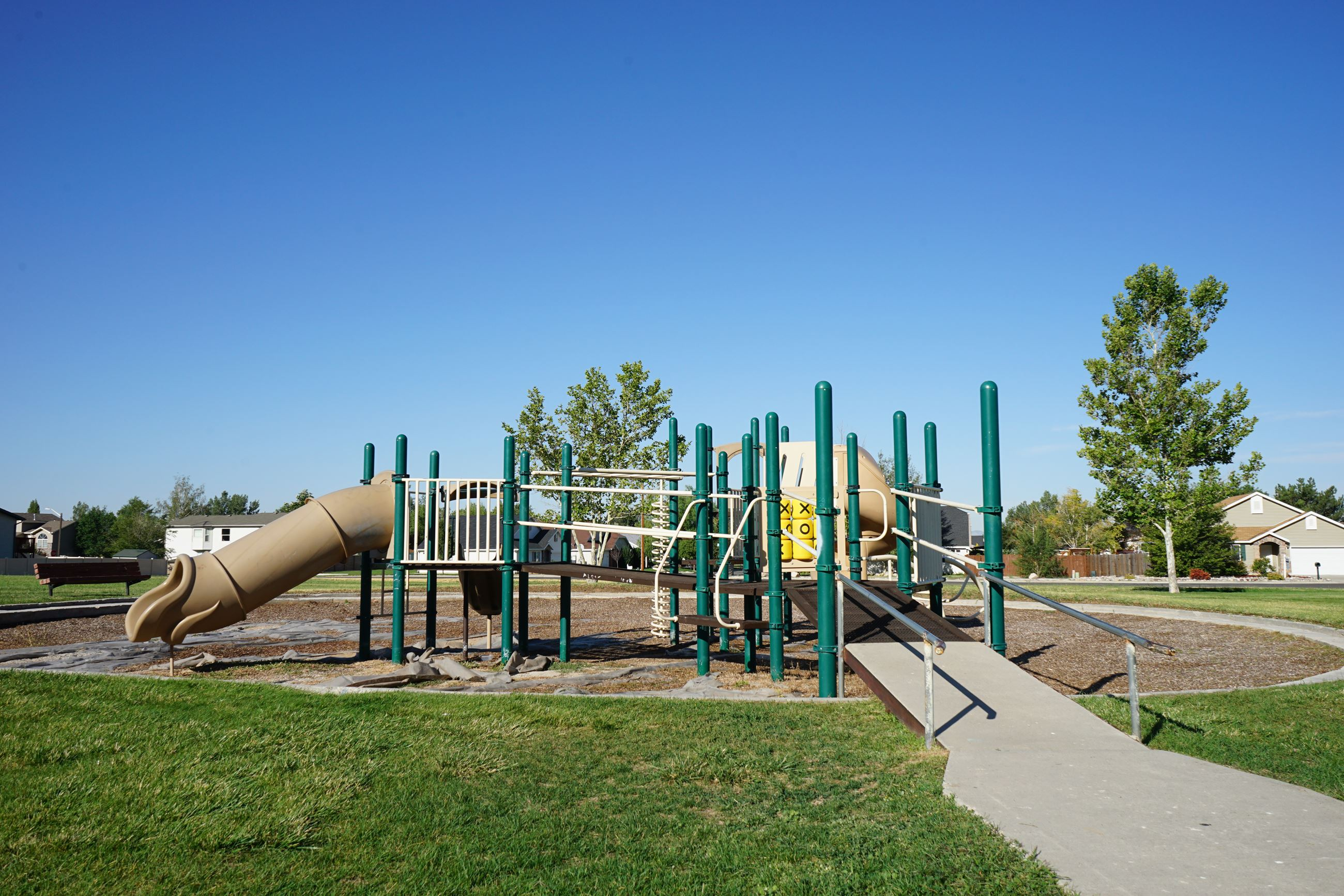 The playground at Francis Peak Park